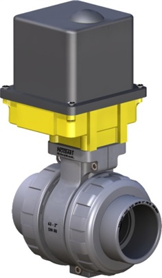 uPVC Electric Actuated Ball Valves