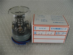 SANWA DENKI Pressure Switch SPS-8T-D, ON/0.5MPa, OFF/0.7MPa, Rc1/4, ZDC2