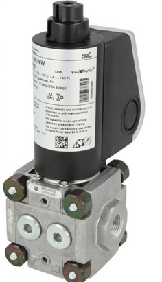 """Krom schroder"" Double solenoid valves for gas  VPS"