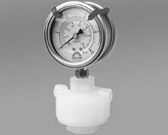 Double-side P.P Diaphragm Pressure Gauge