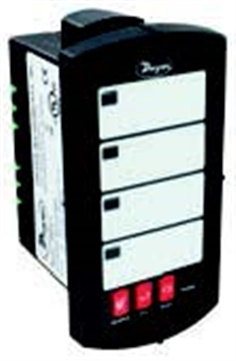 AN28-2Indicating annunciator, eight input, with 12 to 36 VDC power supply.