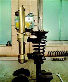 Universal McPherson spring compressor set