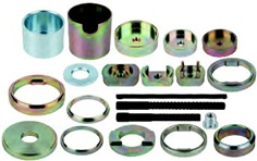 Silent bearing tool set for BMW rear axles