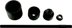 Silent bearing tool set for Land Rover rear axle