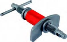 2 in 1 right and left-turning spindle for brake piston adapter