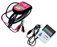 Digital brake fluid tester set with printer