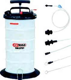 Vacuum fluid extractor suction pump 9.5 litre