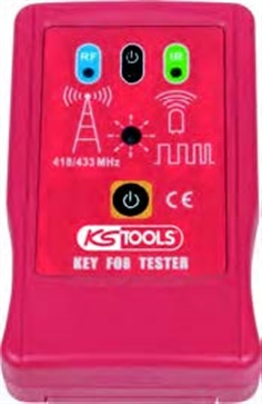 12 V infrared and high frequency key tester
