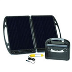 Topray 13w Solar Portable Power Kit Briefcase Style