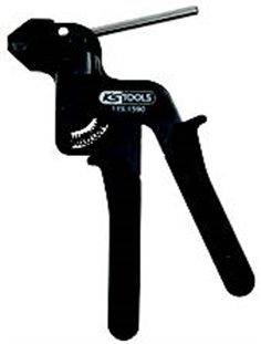 Plier for stainless steel ball-lock cable ties