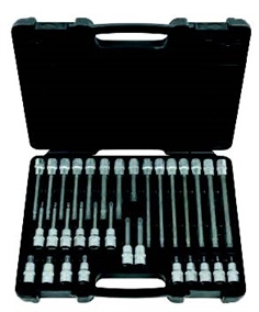 Cylinder head bit socket set for RIBE screws