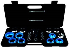 Universal crank seal remover and installer set