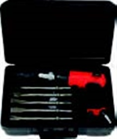 Pneumatic chisel set