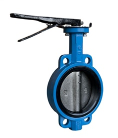 BUTTERFLY VALVE  WAFER TYPE (HANDLE)