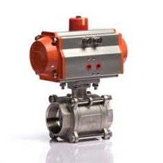 Pneumatic Female Thread 3-part Ball valve (RFS RBVP11)