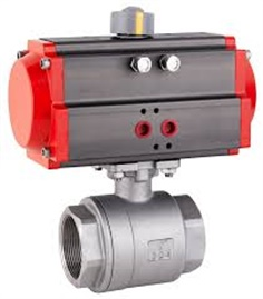 Pneumatic Female Thread 2-part Ball valve (RFS RBVP11)