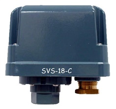 SANWA DENKI Vacuum Switch SVS-18-C, ON/-80kPa, OFF/-87kPa, Rc1/4, ZDC2
