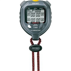 SEIKO S058 - LED Light 100 Memory Stopwatch ( Illuminating stopwatch)