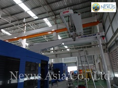 Robot Injection Molding Machine