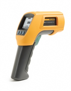 Infrared and contact thermometers
