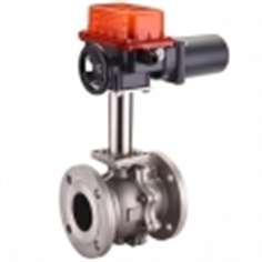 Electric Actuator 2Way Ball Valve High Temperature 5C to 160C