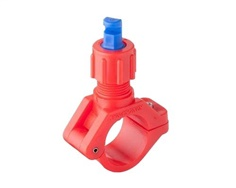 D-Clamp Series - Industrial Low Pressure Wide Angle Flat Fan Clamp Nozzle