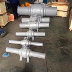 Full Welded Forged Ball Valve, RF, CL300