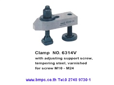 AMF, Clamp, T-slot bolt, T-nut, Hook wrench, Heavy washer, Dished washer, Extension nut, collar nut