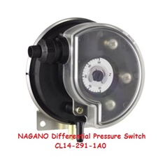 NAGANO Differential Pressure Switch CL14-291-1A0, 20 to 200 Pa