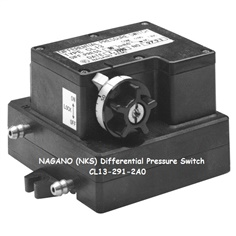NKS Differential Pressure Switch CL13-291-2A0, 100 to 500 Pa