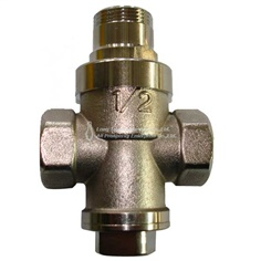 361 Brass  Plated Pressure Reducing Valve