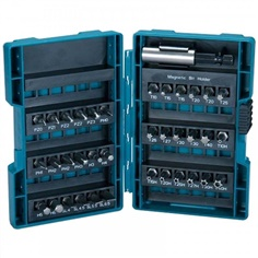 MAKITA B-28606 37 Piece Screwdriver Drill Bit Set Pozi Torx Slotted Hex Phillips