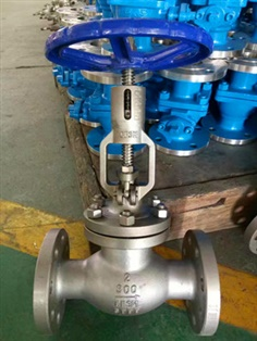 Ansi 316L Globe Valve with Position Indicator