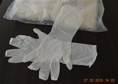 """Cleanroom Nitrile Disposable Gloves 12"""""""