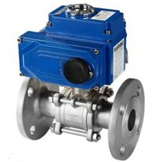 Electric Flange Ball valve รหัสสินค้า Electric1