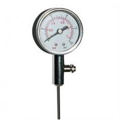 40mm handheld common use for all kinks balls precision pressure gauge recorder