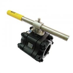 High Pressure Fire-Safe 3-PC Full Port Ball Valve