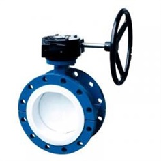 PTFE lined flange butterfly valve รหัสสินค้า DN40-DN1000--6