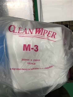 Nonwoven Lint Free Cleanroom Wipes M-3