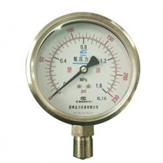 100mm general mpa scale color dial no oil type oxygen   pressure gauge manufacturer