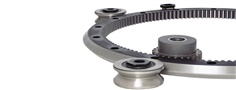 HDRT Heavy Duty Ring Guides and Track Systems