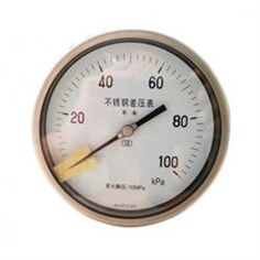 "6""inch-150mmall stainless   steel back connection high static pressure    differential pressure gauge"