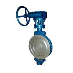 wafer type metal seat butterfly valve รหัสสินค้า DN50--DN1000