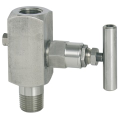 """WIKA""Barstock valve for pressure gauges, stainless steel version Model 910.81#""WIKA""Barstock valve for pressure gauges, stainless steel version Model 910.81"