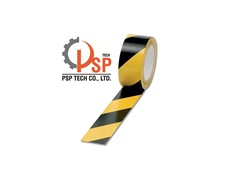 FLOOR MARKING TAPE YELLOW / BLACK (grid)