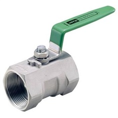 BALL VALVE STAINLESS STEEL 600P SCREWED