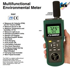 Sound level and Anemometer