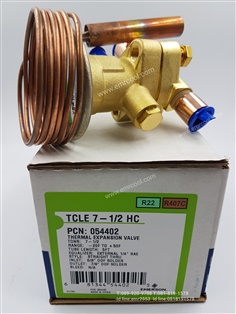 Expansion Valve TCLE 7-1/2 HC