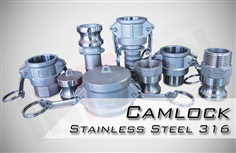 Camlock Coupling : Stainless Steel 316