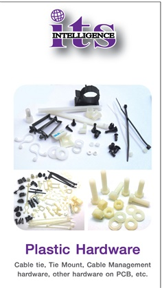PLASTIC / NYLON PCB HARDWARE SUCH AS CABLE TIE , STANDOFF , SPACER , CABLE GLAND , PLASTIC SCREW , PLASTIC NUT , ETC